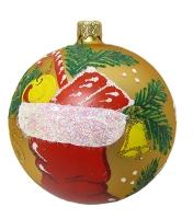 Стеклянный шар d90мм Сапожок 90811 Полимер