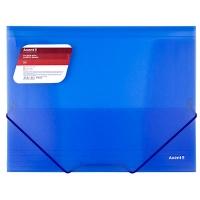 Папка на резинке А4 Axent прозрачная синяя 1501-22-А