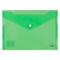 Папка на кнопке А5 Axent зеленая 1522-25-А