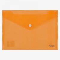 Папка на кнопке А5 Axent жолтая  1522-26-А