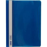 Скоросшиватель А5 BUROMAX пластиковый синий ВМ-3312-02