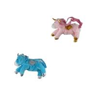Сумка детская Единорог меховая 6-194 (10878)