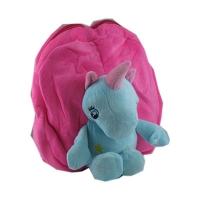 Рюкзак детский Носорожек меховой 6-198 (10878)