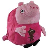 Рюкзак детский Свинка Пеппа меховой 6-201 (10878)