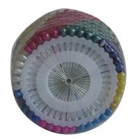 Булавки цветные металик 480шт 4см цена за упак 6-212 (24806)