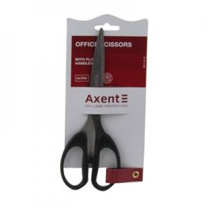 Ножницы канцелярские 19см черные Axent Ultra 6211-01-А