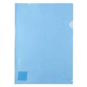 Папка уголок А4 синяя Axent 1434-22