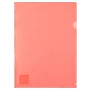 Папка уголок А4 красная Axent 1434-24