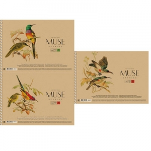 Альбом для рисования А4 30л крафт-картон MUSE PB-SC-030-163
