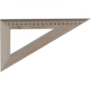 Треугольник деревянный 22см 60*90*30 Мицар