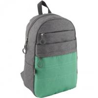 Рюкзак школьный GoPack 118-3  GO19-118L-3(зеленый карман)