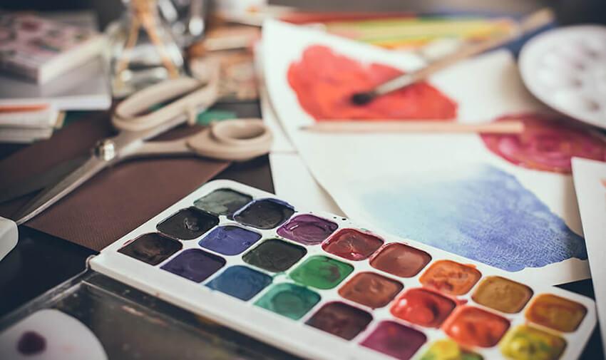 где купить принадлежности для рисования